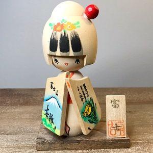 Vintage Japanese Kokeshi doll